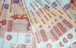 Размер купюры 1000 и 5000 рублей в см