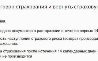 Заявление на отказ от страховки по кредиту Сбербанка: образец