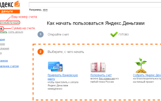 Получите доступ к номеру счёта Яндекс.Деньги