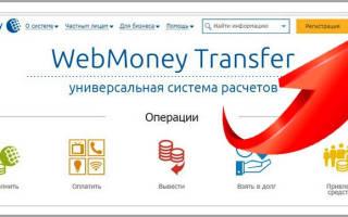 Как снимать деньги с вебмани кошелька